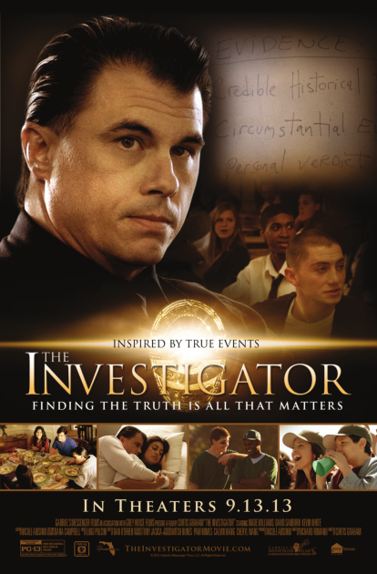 "June 8, 2015 ISI Radio Show with Richard Romano discussing his autobiographical movie ""The Investigator"""