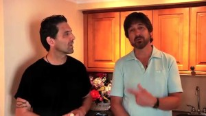 Richard and Ray Romano