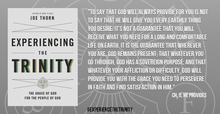 "July 10, 2015 ISI Radio Show with Pastor Joe Thorn on his book ""Experiencing the Trinity: The Grace of God for the People of God"""