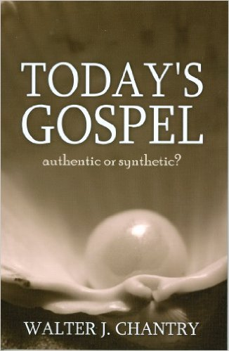 "July 13, 2015 ISI Radio Show with Pastor Walt Chantry on his book ""Today's Gospel: Authentic or Synthetic?"""